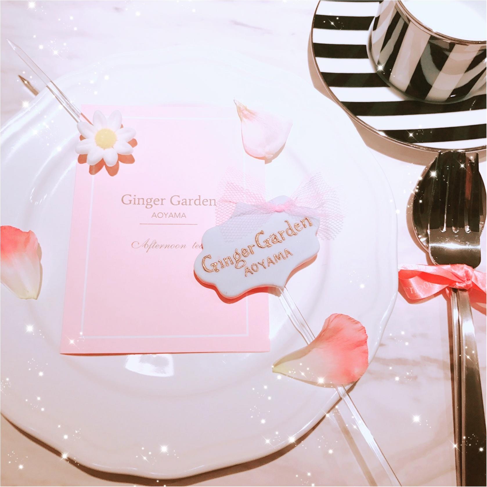 土日祝限定!完全予約制、ジンジャーガーデン青山のピンクアフタヌーンティーが可愛すぎる!_15