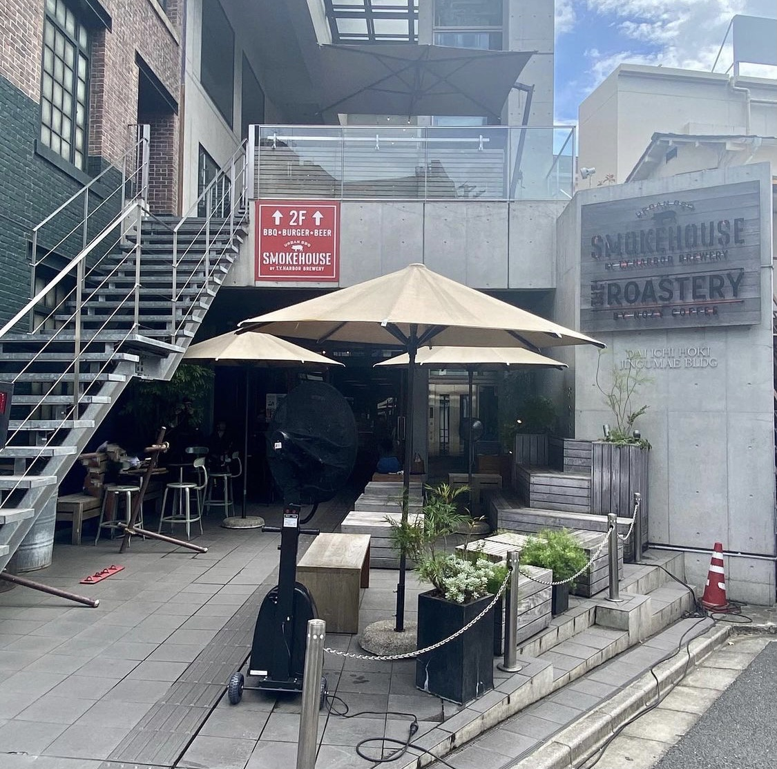 原宿カフェ THE ROASTERY