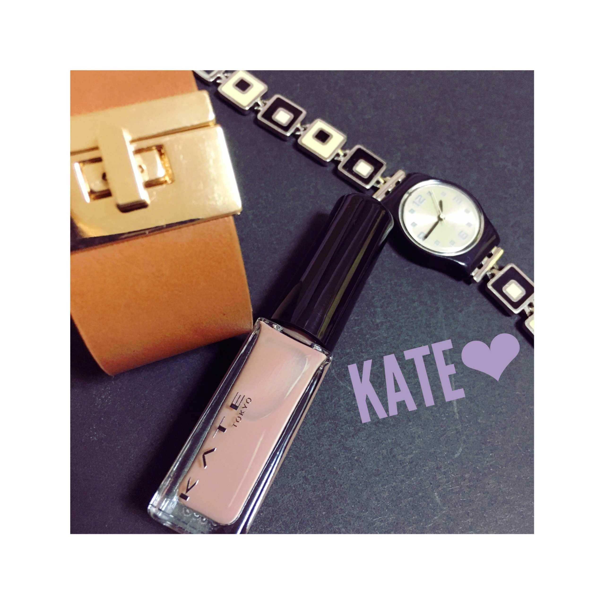 《¥360とは思えないクオリティ★》【KATE】のネイルが好発色でかわいいんです❤️!_1