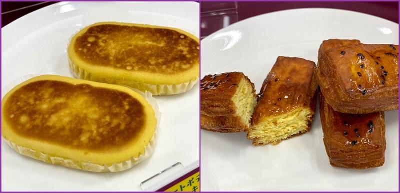 『ファミリーマート』(ファミマ)で開催されるフェア「ファミマのお芋堀り」。菓子パン「スイートポテト蒸しケーキ」、「大学芋なスティックドーナツ」