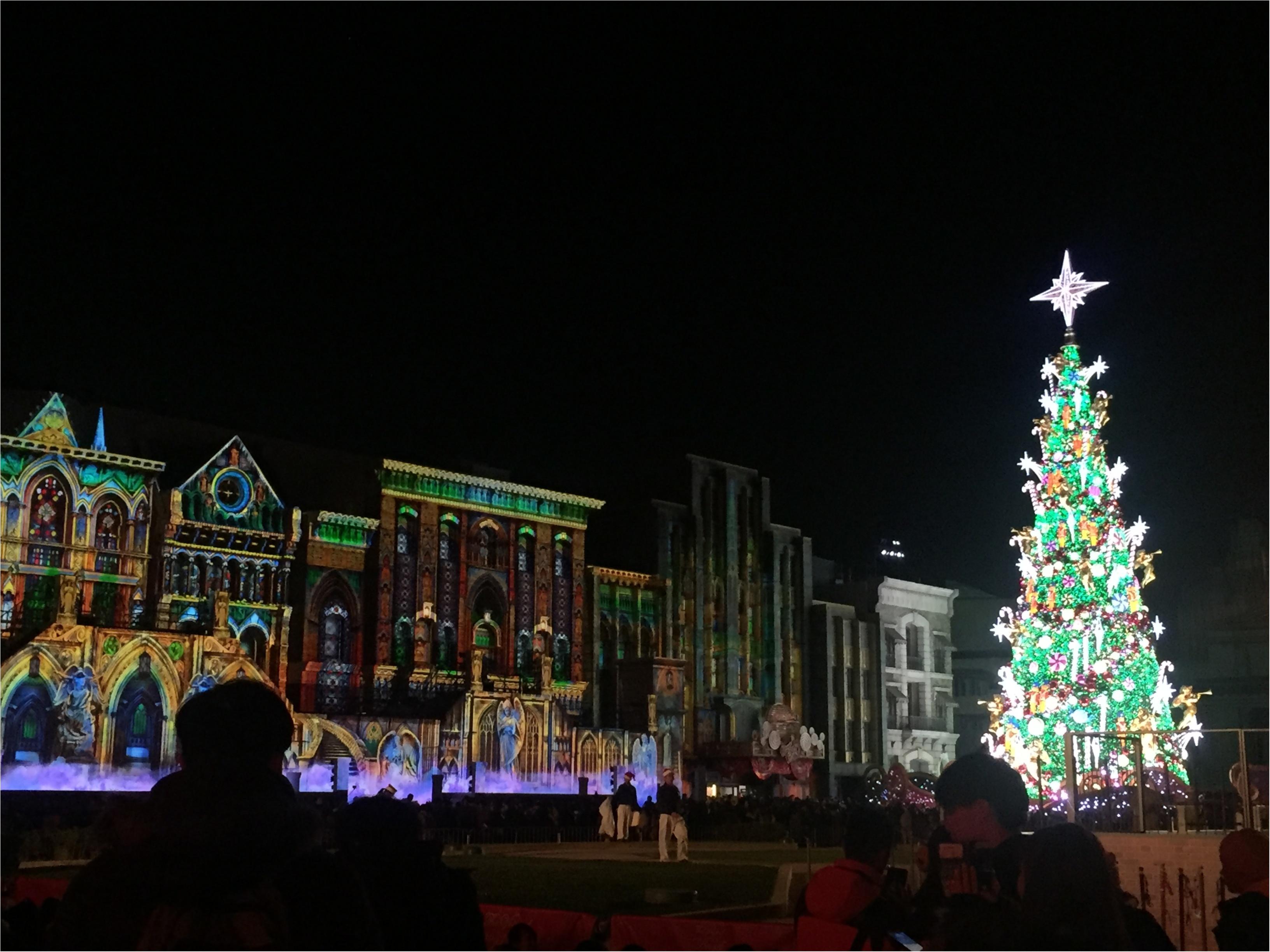 クリスマスモード一色のユニバは歩くだけで楽しい!こだわりのイルミネーションを楽しもう!_2
