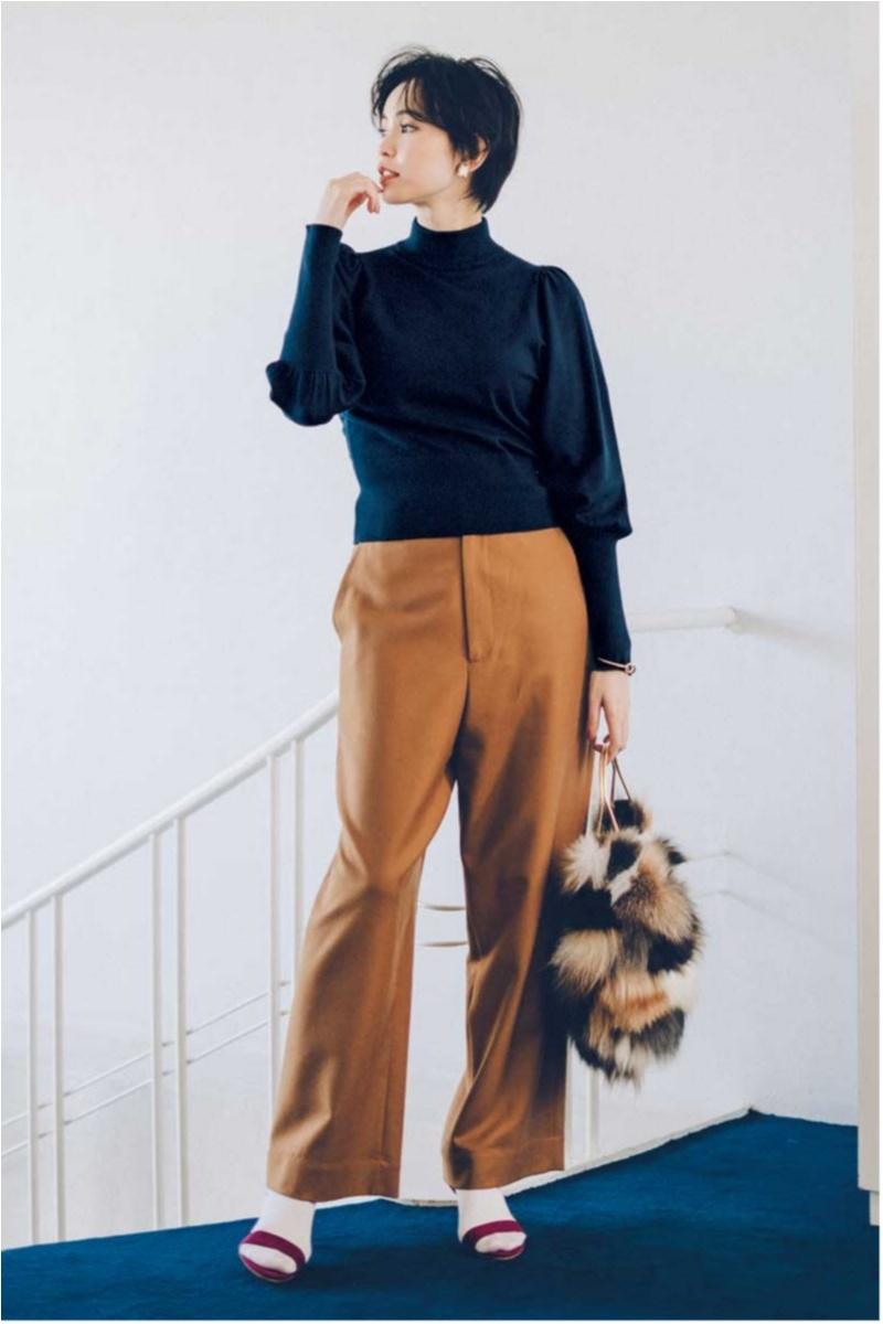 2018年秋のファッション ニット16