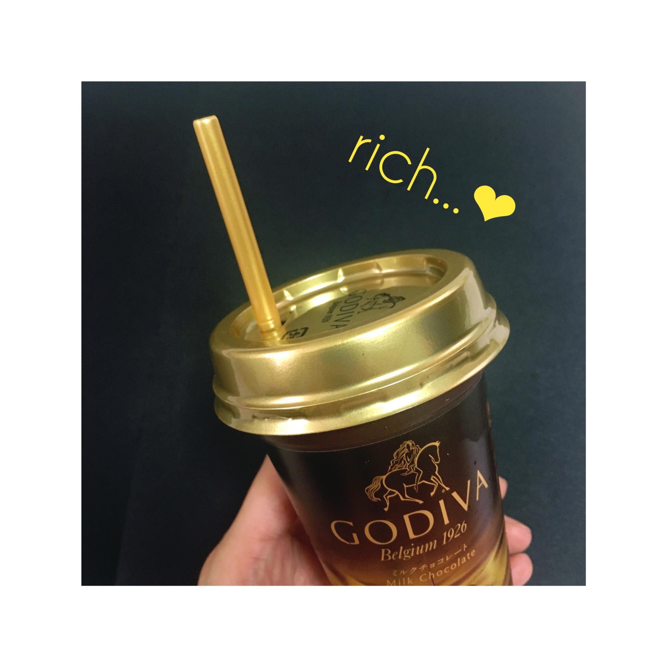 《本日9/12発売★》あの【GODIVA】がドリンクに⁈❤️至福のミルクチョコレート♡_4