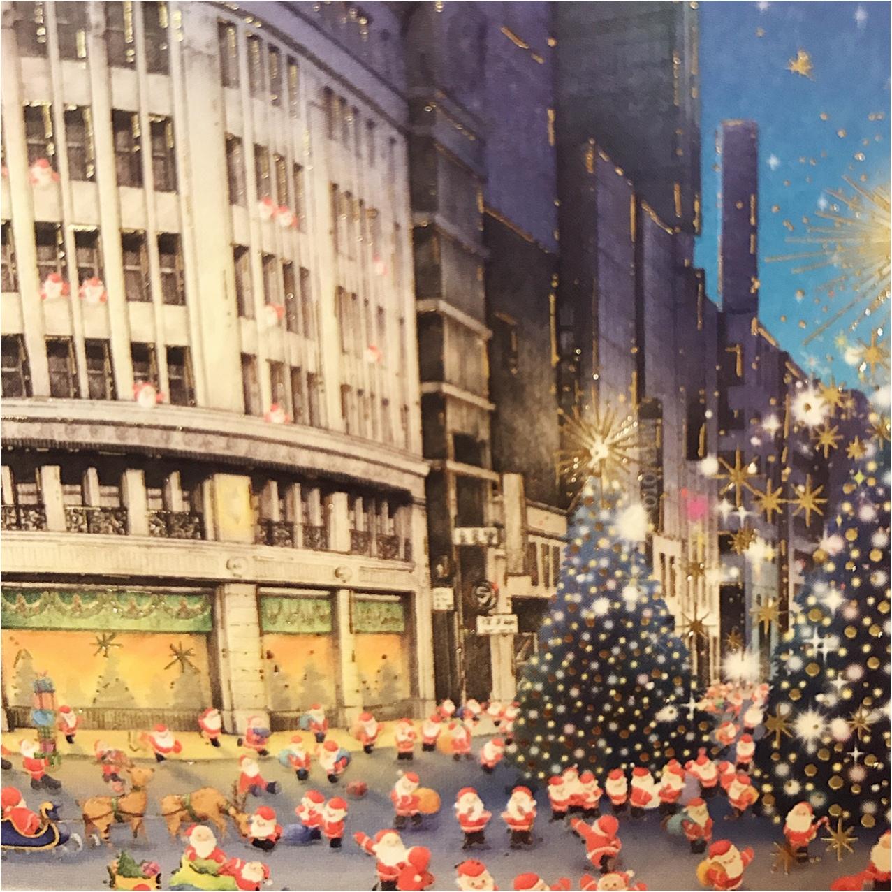 《Xmasプレゼントに添えて♡》 日本を旅するサンタさんが可愛いクリスマスカード❤︎_5