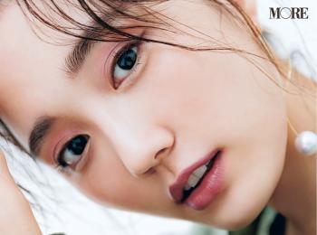 """長井かおりさん流・小顔""""ピンクメイク""""テクを公開!【小顔Q&A①】"""
