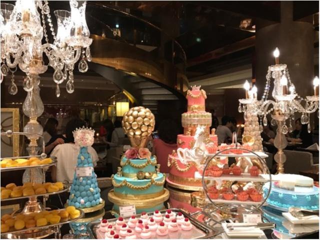 女の子の憧れが詰まった空間♡ヒルトン東京の今季のブッフェは《マリーアントワネットの結婚》がテーマ・:*_2