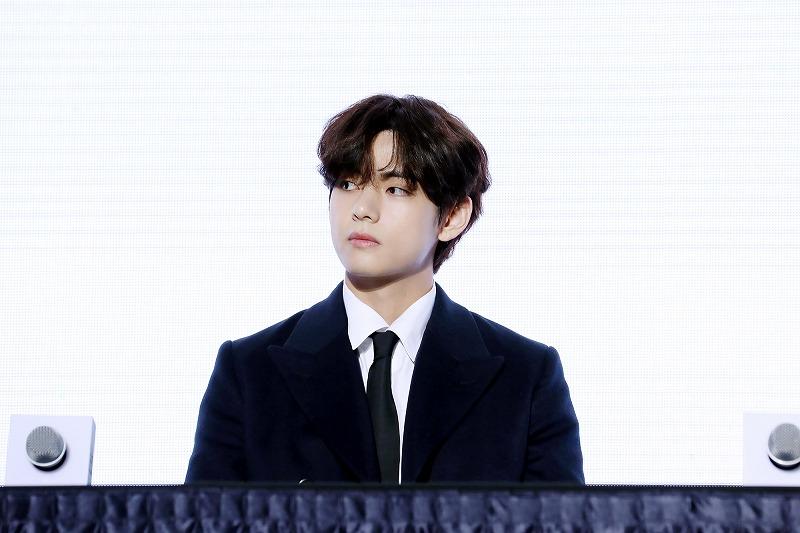BTSのメンバー・Vさん