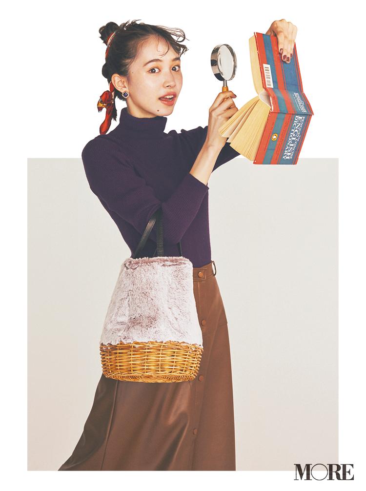 きれいめ派のレオパード&エコファーバッグ。ちょっぴりパンチが効いてるくらいがちょうどいい♡_1_4