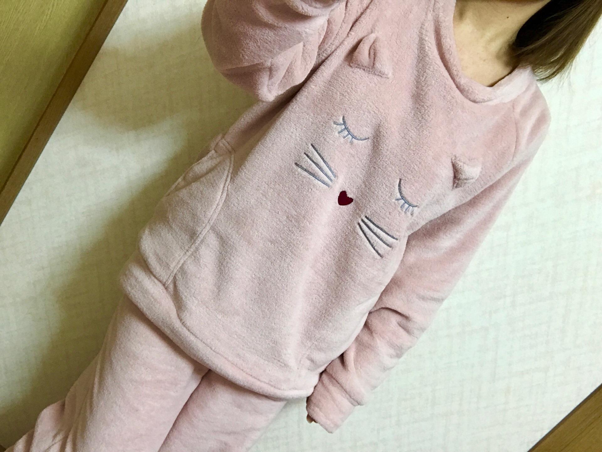 【GU】パジャマを新調して気分一新!着るだけでアガる《マシュマロフィールラウンジ》♡_3