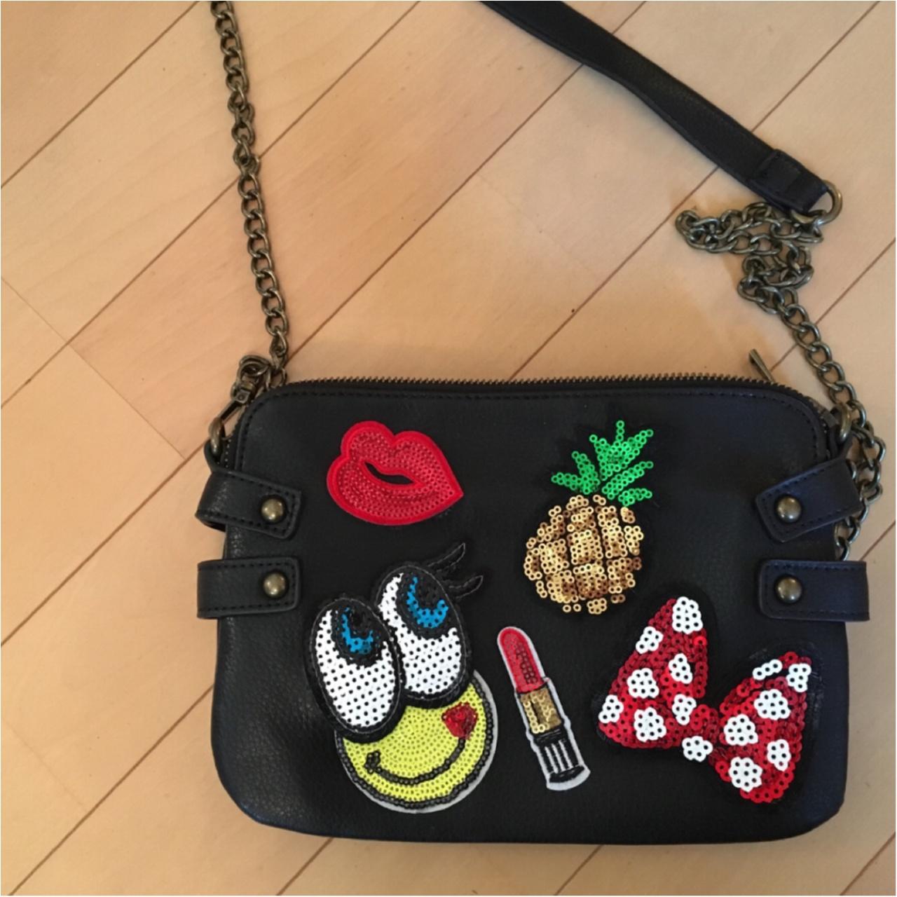 【bag▶︎forever21】自分だけのショルダーバッグを安く簡単に可愛く作っちゃいました☺︎_3