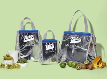 『Ziploc®×DEAN & DELUCA×BEAMS COUTURE』トリプルコラボが復活! クーラーバッグ3種が4/27(火)発売