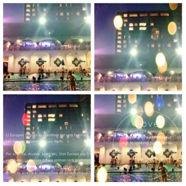 …ஐ 大人の楽園SUMMER༓【ホテルニューオータニナイトプール】で大人贅沢な時間を༓ஐ¨_3