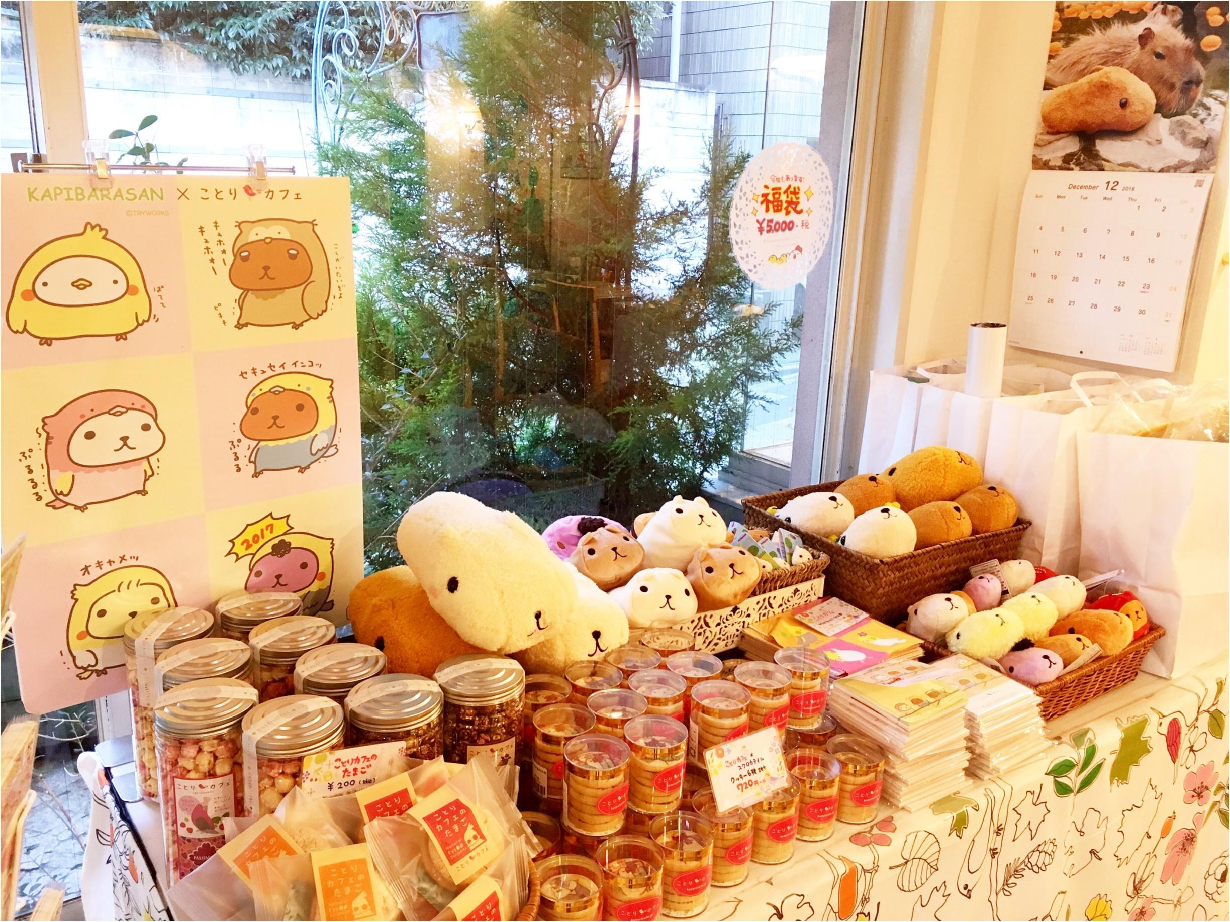 『カピバラさん×ことりカフェ』コラボ♡ことりカフェ表参道店でカピバラさんケーキを食べてきました(﹡´◡`﹡ )_5