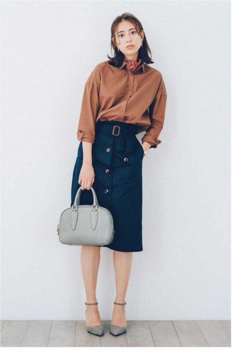 秋のマストアイテム、1枚で着られる【シャツ&ブラウス】カタログ | ファッション_1_18