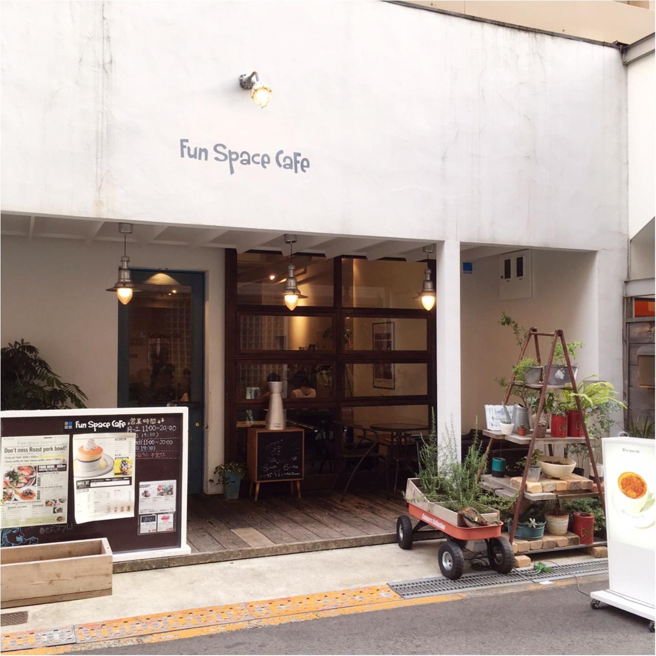 ふわとろ♡スフレにめろめろですっ!大阪《Fun Space Cafe》_1