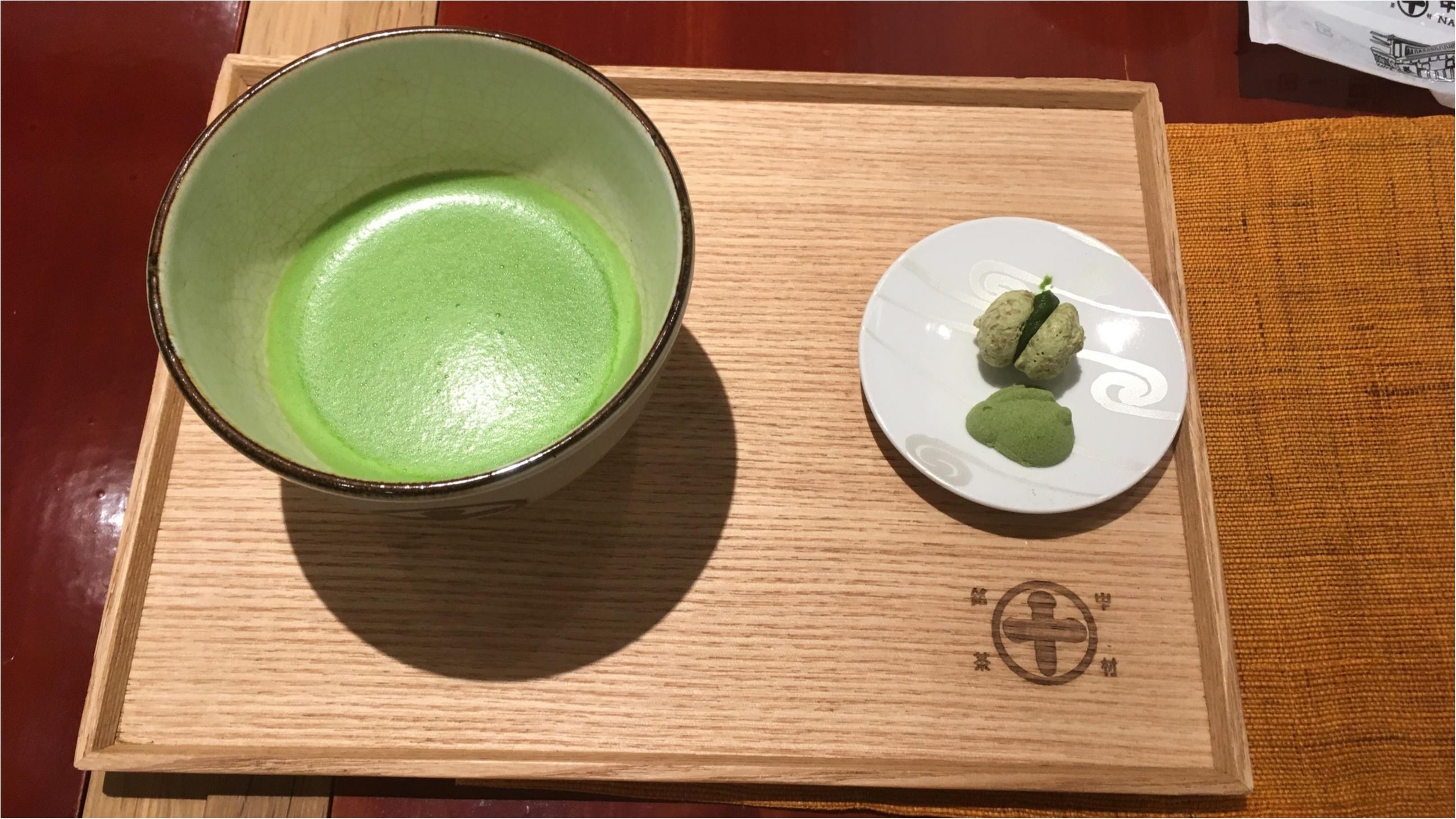 ギンザシックス 抹茶パフェ!格別の美味しさ _3