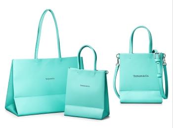 『ティファニー』のショッピングバッグがレザーになった! 日本限定のミニサイズも展開♡