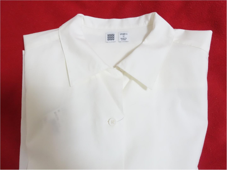【Uniqlo U】から目が離せない!発売日に購入できた《今から使える白アイテム》が、最強に可愛いのです!_6