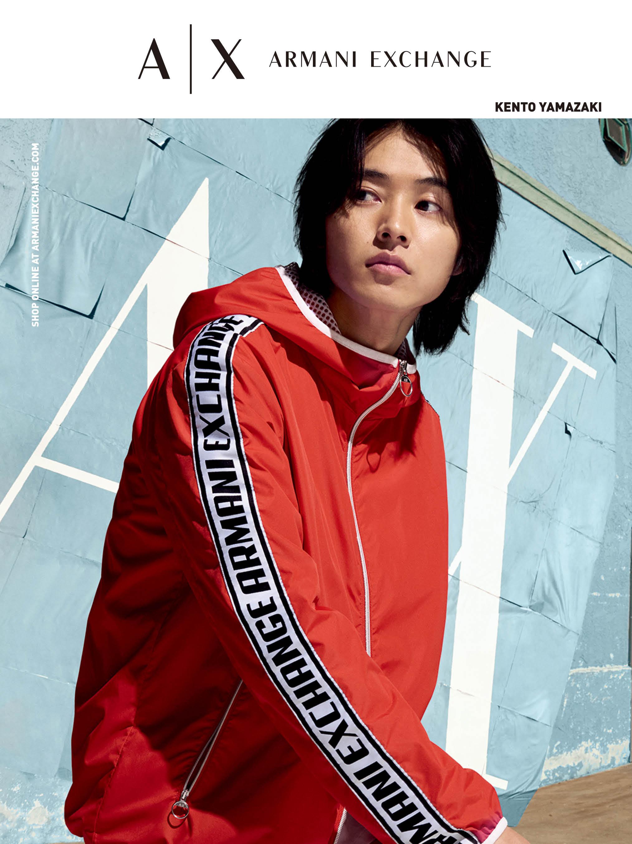 山﨑賢人さん『A|X アルマーニ エクスチェンジ』のキャンペーンモデルビジュアル PhotoGallery_1_1