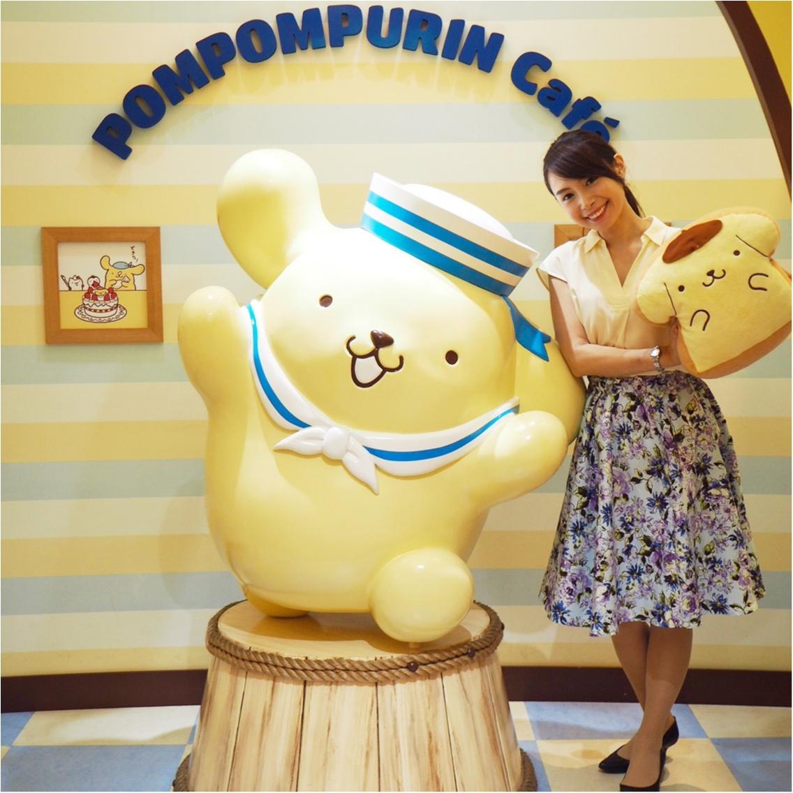 ♡可愛い♡ポムポムプリンカフェに行ってきました_1