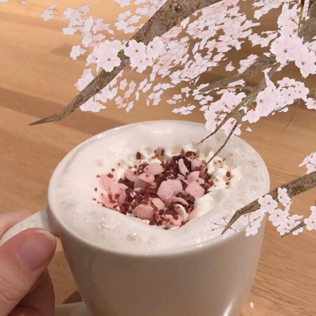スタバ新作♡さくらシリーズ第一弾、さくらミルクラテがめちゃくちゃ美味しい♡♡♡_10