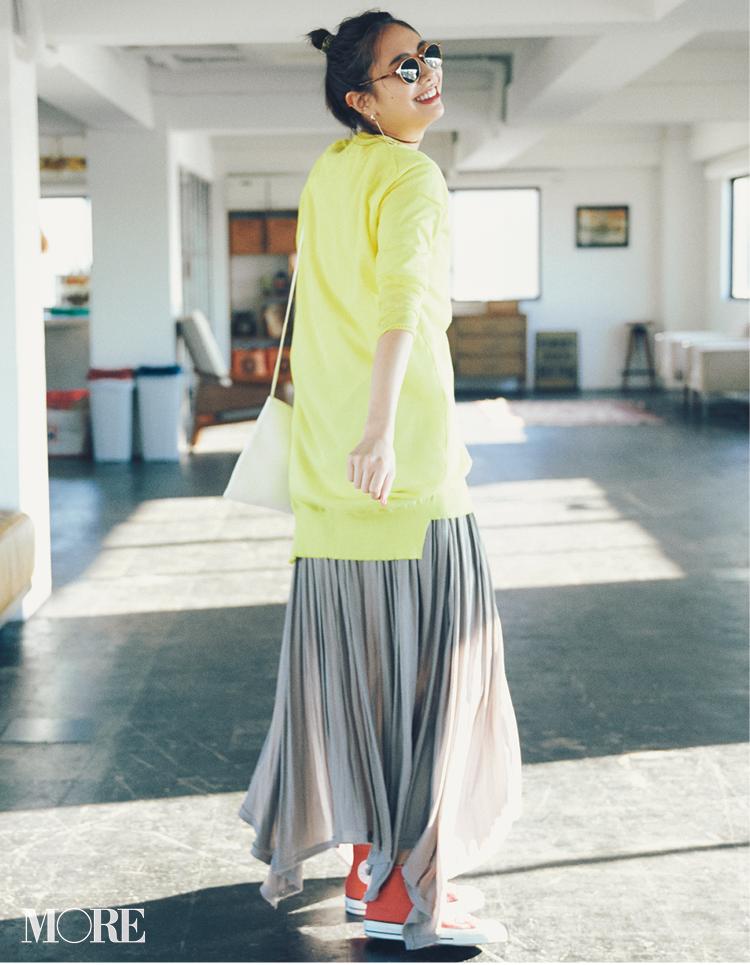 2019年春のスカートコーデ   20代後半女子におすすめのタイト、プリーツ、ラップタイプなど! Photo Gallery_1_4