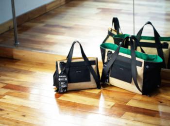 『ディーゼル』の日本限定バッグは、トレンドのブラックデニムを軽やかにミックス☆