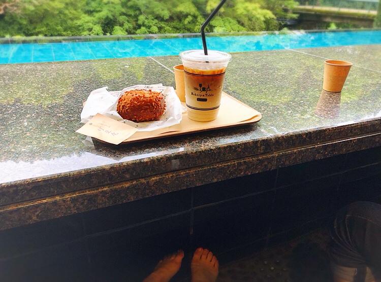 【伊豆】日本美*和モダンな足湯カフェ☕︎和リゾート施設内❁東府や Bakery&Table_4