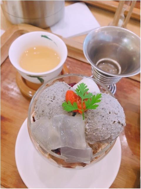中国茶のお店【茶語】で《中国茶とオリエンタルパフェ》いただいてきました!_1
