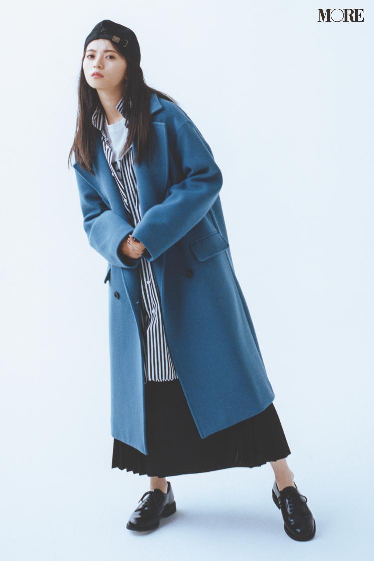 """齋藤飛鳥、きれい色を着る。今年のコートは""""着たい色""""で選ぶのがあか抜け見えのコツ!_5"""