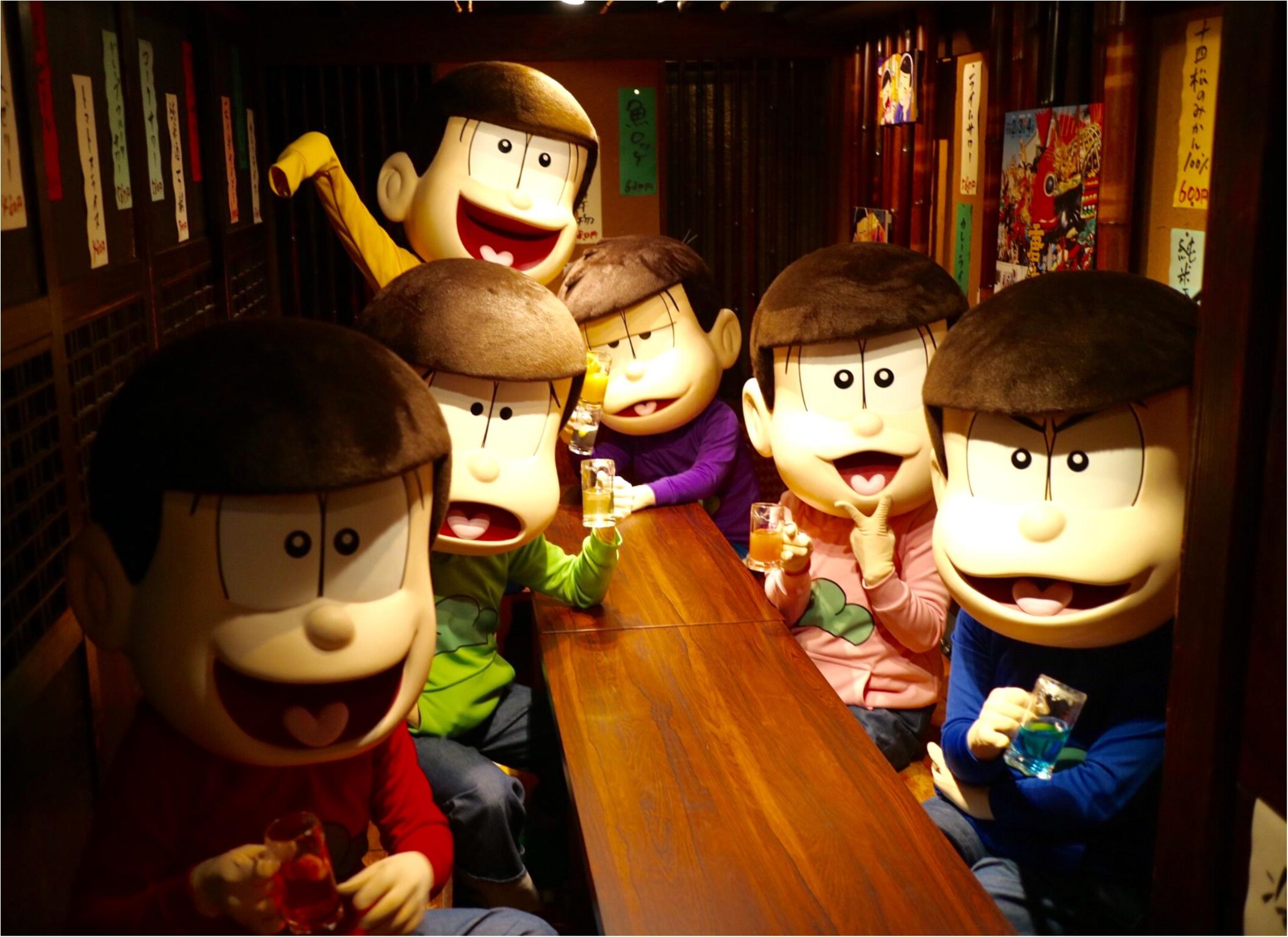 大人気の「おそ松さん」が佐賀県とコラボ!? 『さが松り居酒屋』で六つ子と一緒に飲んできました☆_5