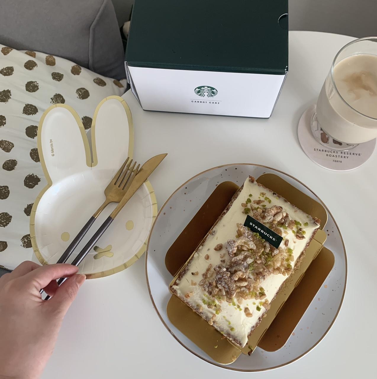 """【スタバ】数量限定!オンラインショップ初のケーキは""""コーヒーの豆かす""""を活用したキャロットケーキ_7"""