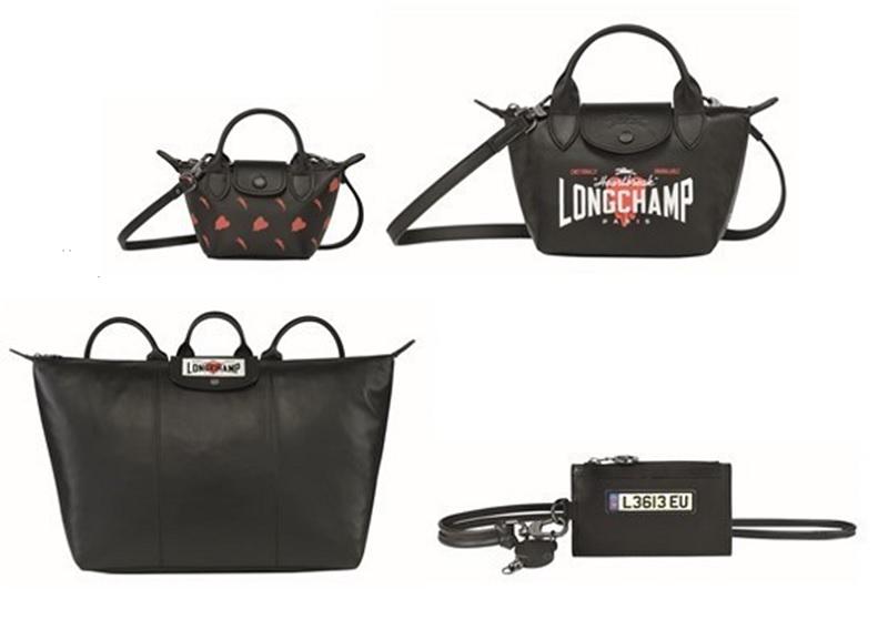 ロンシャン×EU ラムスキンを使ったバッグやコインケース