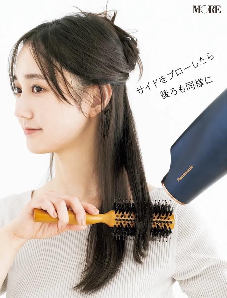 美髪をつくる「夜ブロー」方法