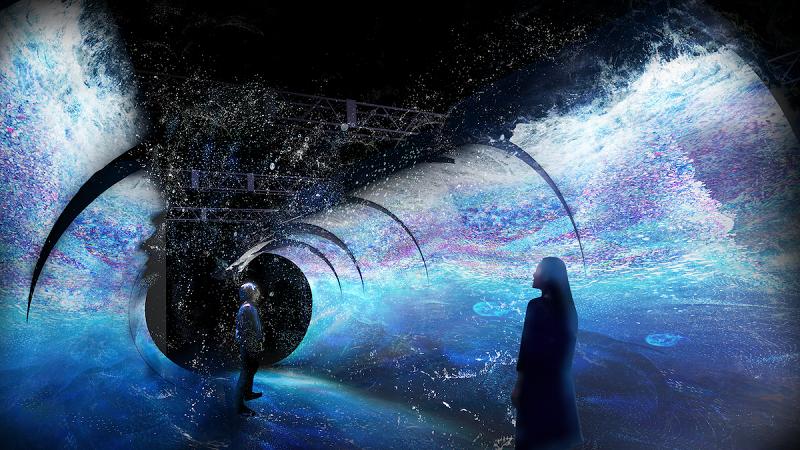 横浜デートや観光に♪ 体験型デジタルアート展「OCEAN BY NAKED 光の深海展」が日本初開催☆_2