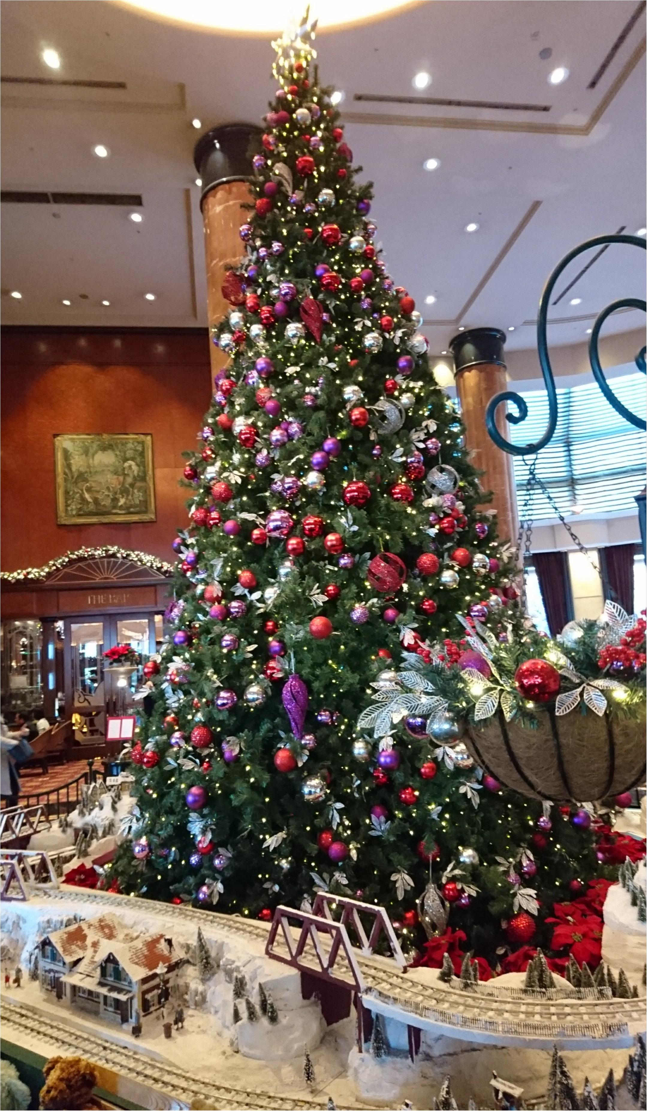 ウェスティンのクリスマス♡おすすめはランチビュッフェ(。・ω・。)_1