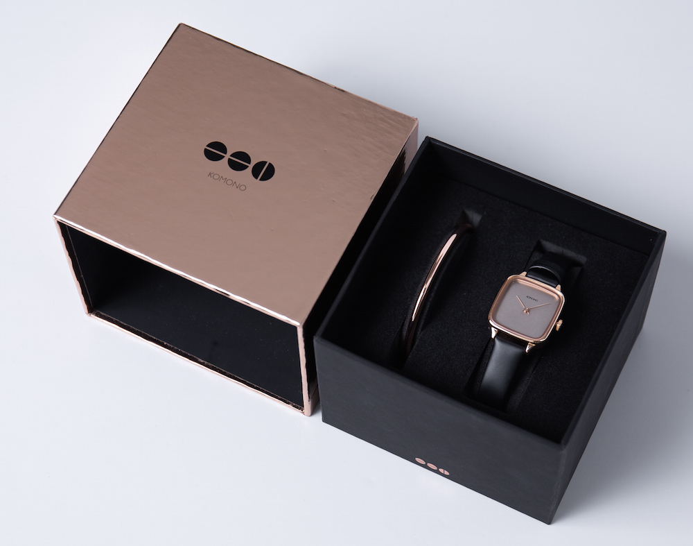 クールな彼に、彼女に、『KOMONO』の腕時計を。クリスマス限定ボックス販売中☆_1