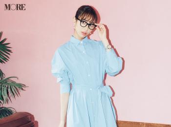 【今日のコーデ】<土屋巴瑞季>最高クリーンなシャツワンピースで気分リフレッシュ☆