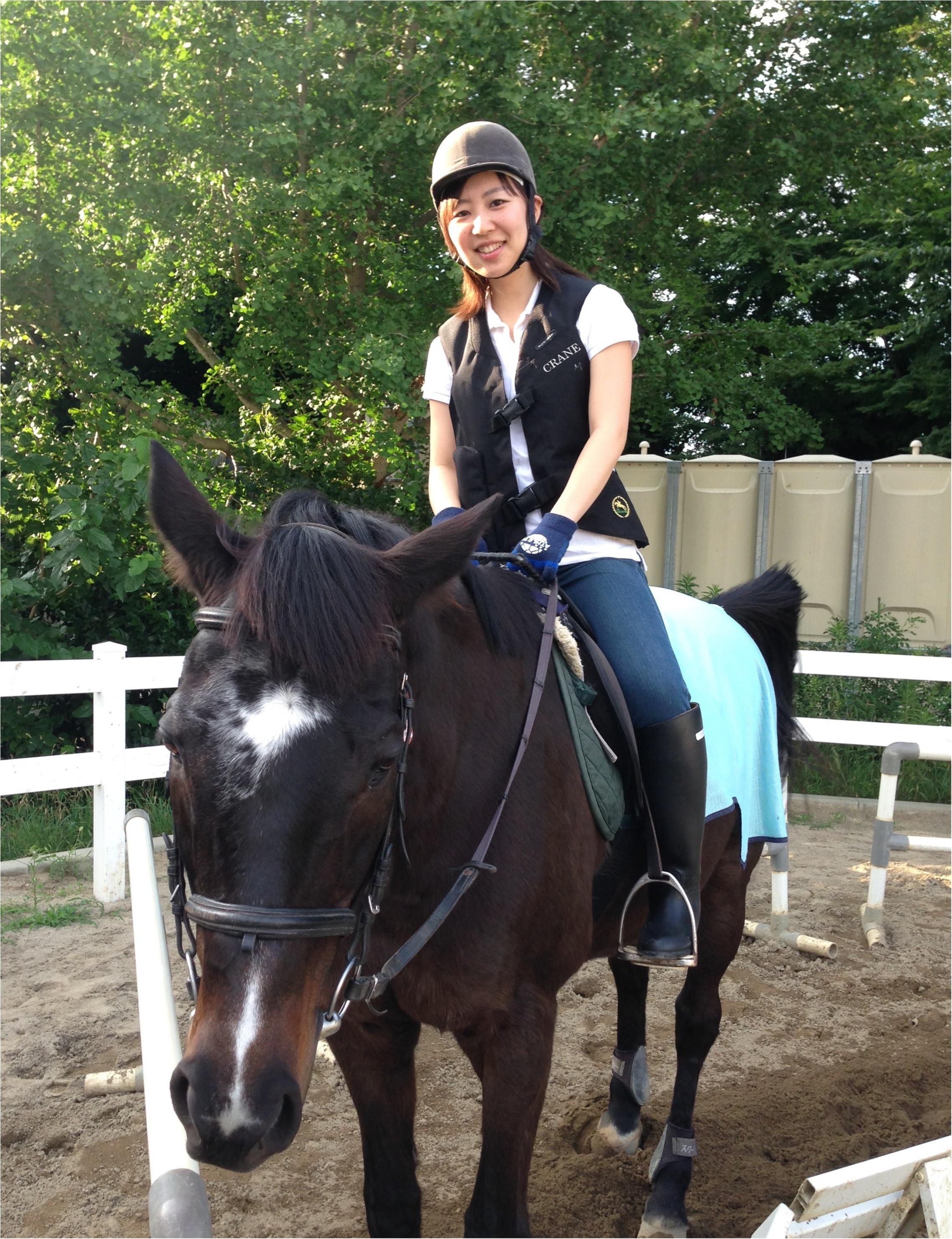 馬にアモーレ!!ステキな週末★都内で乗馬したことありますか?\(//∇//)\_8
