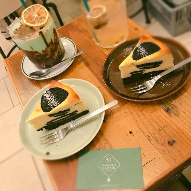 【東京カフェ巡り❤︎】新宿御苑そば!大行列ができる『4/4 SEASONS COFFEE 』が映えすぎる♡_4