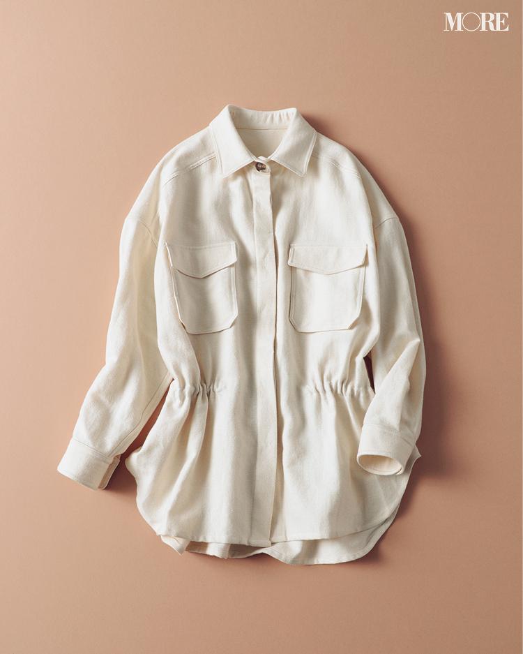 『ZARA』もラインアップ! トレンドど真ん中のシャツジャケットはこの6ブランドから選んでみて!_5