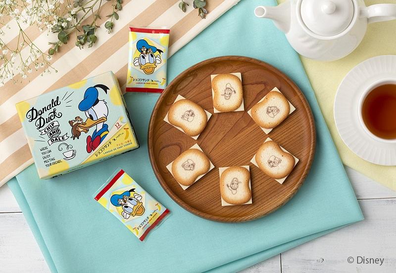 「Disney SWEETS COLLECTION by 東京ばな奈」のおすすめ品「ドナルドダック、チップ&デール/ショコラサンド『⾒ぃつけたっ』」