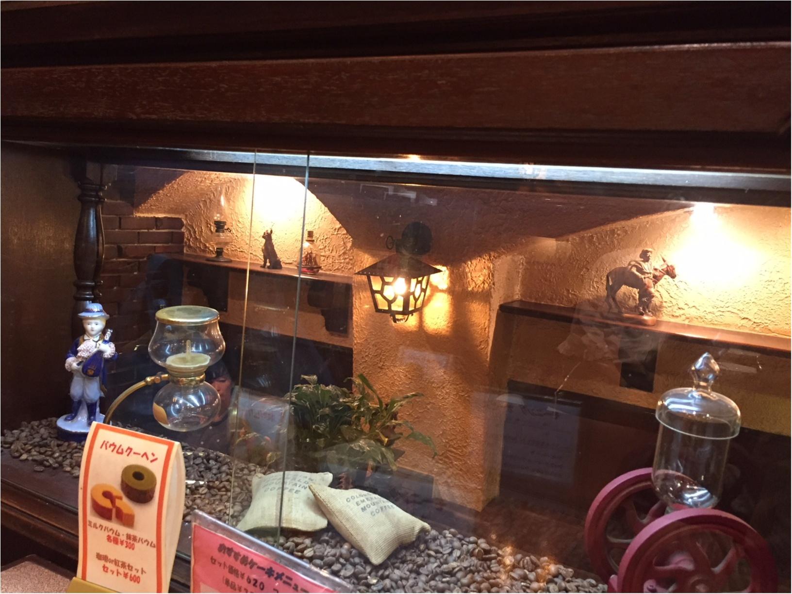 【大阪カフェ】レトロな雰囲気と大満足なパフェがたまらない♡「珈琲館ビクター」_1
