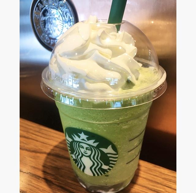 【スタバ】夏に飲みたいわらび餅入り抹茶フラペ♡_2