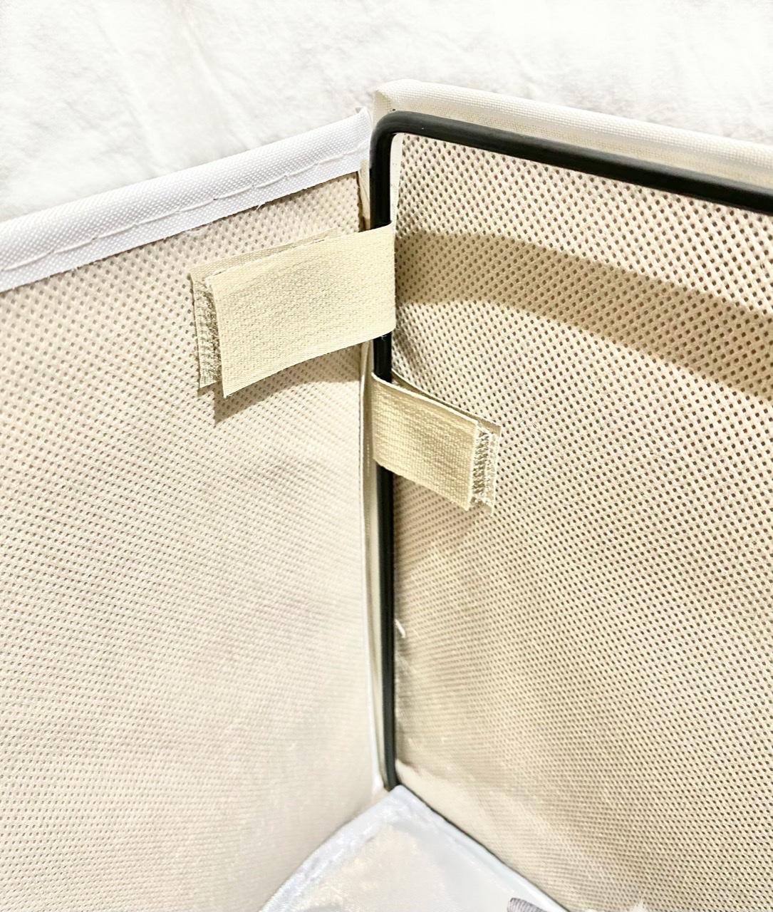 ニトリの収納ボックスパピタのワイヤー部分