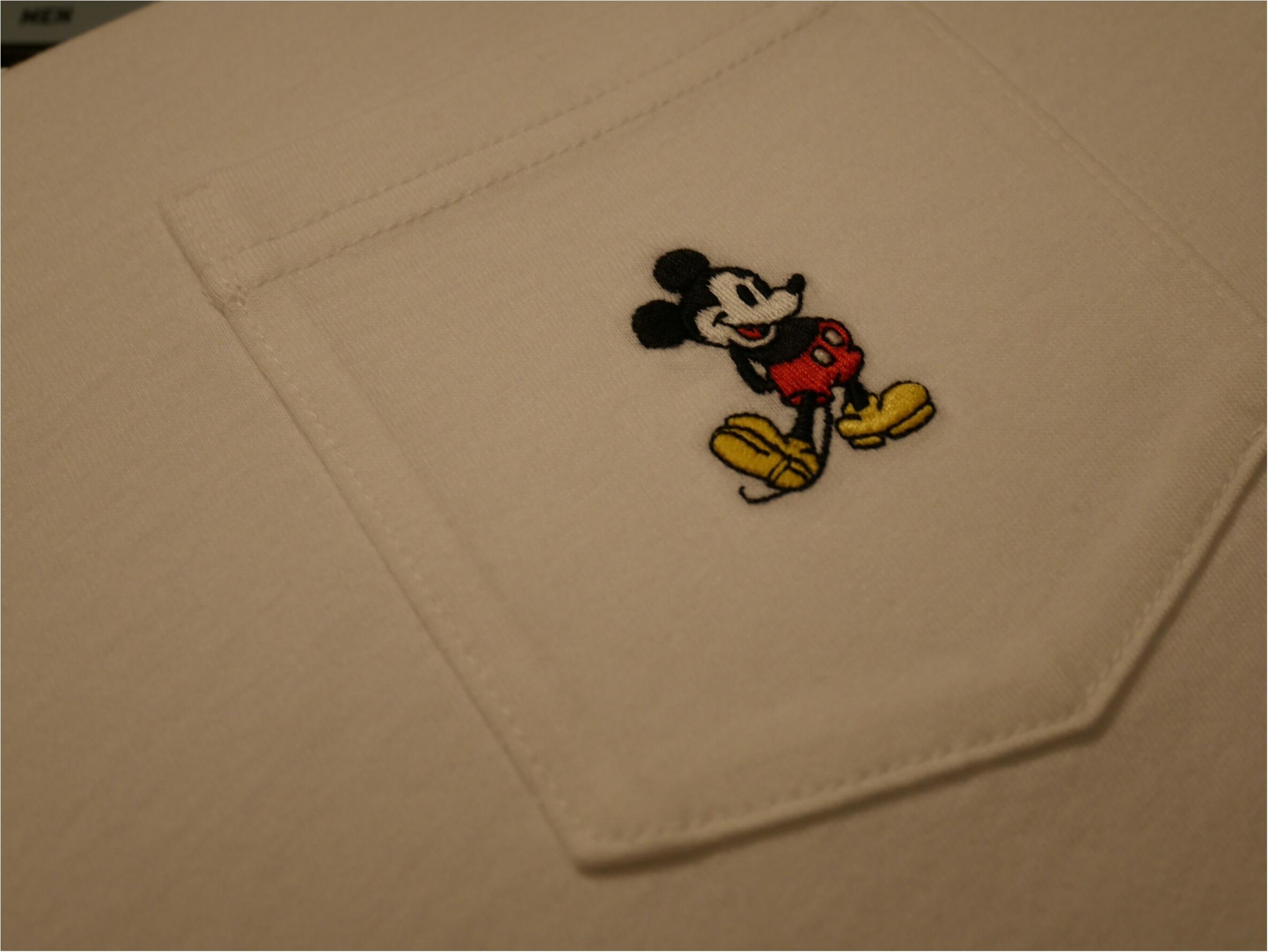 「ユニジョはメンズ服もチェックする」パックTが今年はミッキーマウスとコラボしたらしい!_2