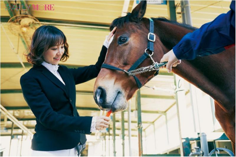 篠田麻里子もおすすめ♡ 『乗馬クラブクレイン』で、体験乗馬!【麻里子のナライゴトハジメ】_2_4