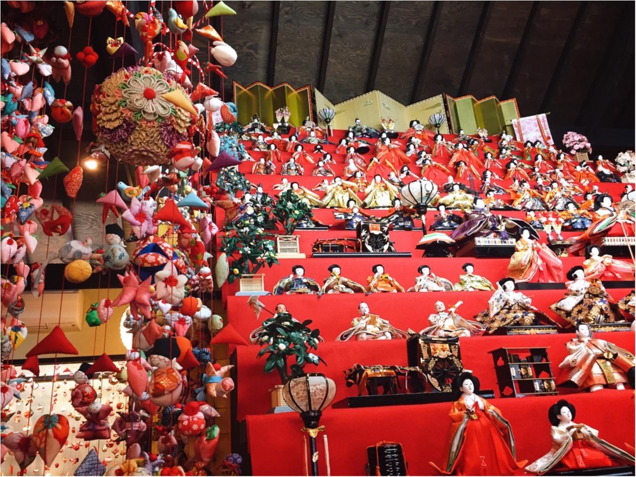 この時期ならではの感動と迫力を!伊豆稲取温泉の『雛のつるし飾り』を見てきました♡*_1