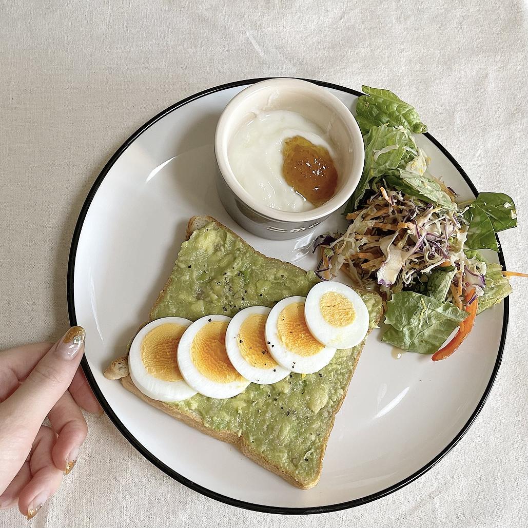 【Home Cafe ②】- ワンプレート朝ごはん -_3