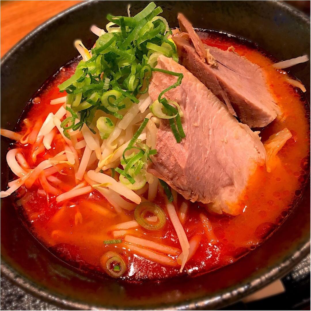 【29日:肉の日限定メニュー】フォトジェニックな辛味噌ラーメン♡_6